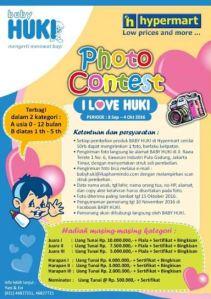 Photo Contest Baby Huki Hypermart Berhadiah Uang Tunai Puluhan Juta Rupiah