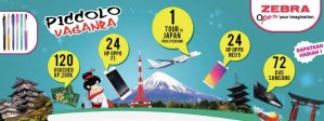 Piccolo Vaganza Berhadiah Trip Ke Jepang