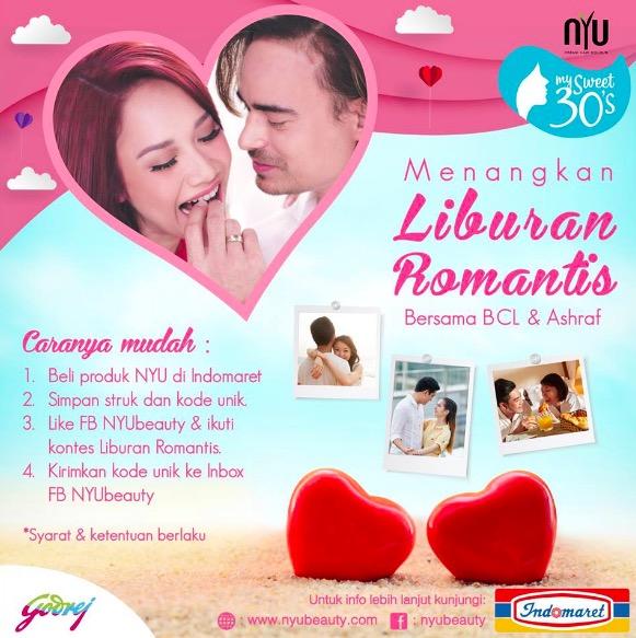 187 Warnai Kembali Cintamu Dengan Nyu Berhadiah Liburan Romantis