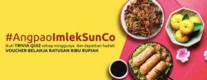 Angpao Imlek Sunco Berhadiah Voucher Belanja Jutaan Rupiah