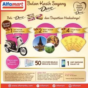 Belanja Dove Coklat Di Alfamart Berhadiah Motor Scoopy