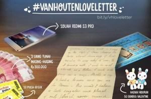 Van Houtten Love Letter  Berhadiah Redmi S3 Pro