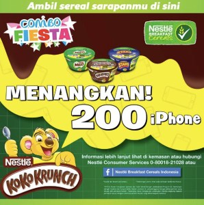 Nestle Koko Krunch Combo Fiesta Berhadiah 200 Iphone