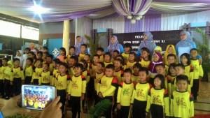 Pelepasan TK Aisyiyah XI Purwokerto Kidul Th Ajaran 2016/2017