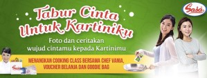 Tabur Cinta Untuk Kartiniku Berhadiah Fun Trip & Cooking Class