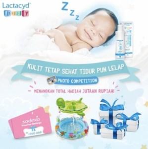 Kulit Sehat Tidur Lelap Bersama Lactacyd Baby Berhadiah Voucher Belanja