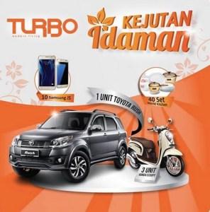 Undian Turbo Indonesia Kejutan Idaman Berhadiah Toyota Rush