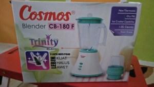 Blender Cosmos : Hadiah Lomfot Bahagia Bersama BKKBN
