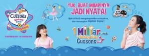 Cussons Bintang Kecil 6 Berhadiah Total 1 Miliar & Jadi Bintang Iklan