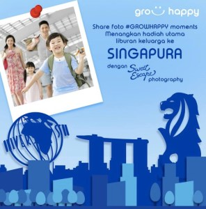 Grow Happy Berhadiah Family Trip Ke Singapura