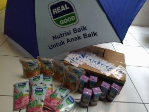 Voucher Carefour 1 Juta & Hampers Produk, Hadiah Video Anak Baik Real Good