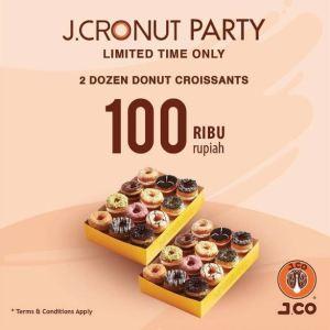 September Ceria, 2 Lusin Donut Only 100K