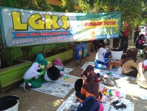Lomba Gelar Ketrampilan Siaga Kwarran Purwokerto Selatan