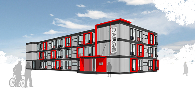 Cargotecture Study Examines Shipping Container Housing