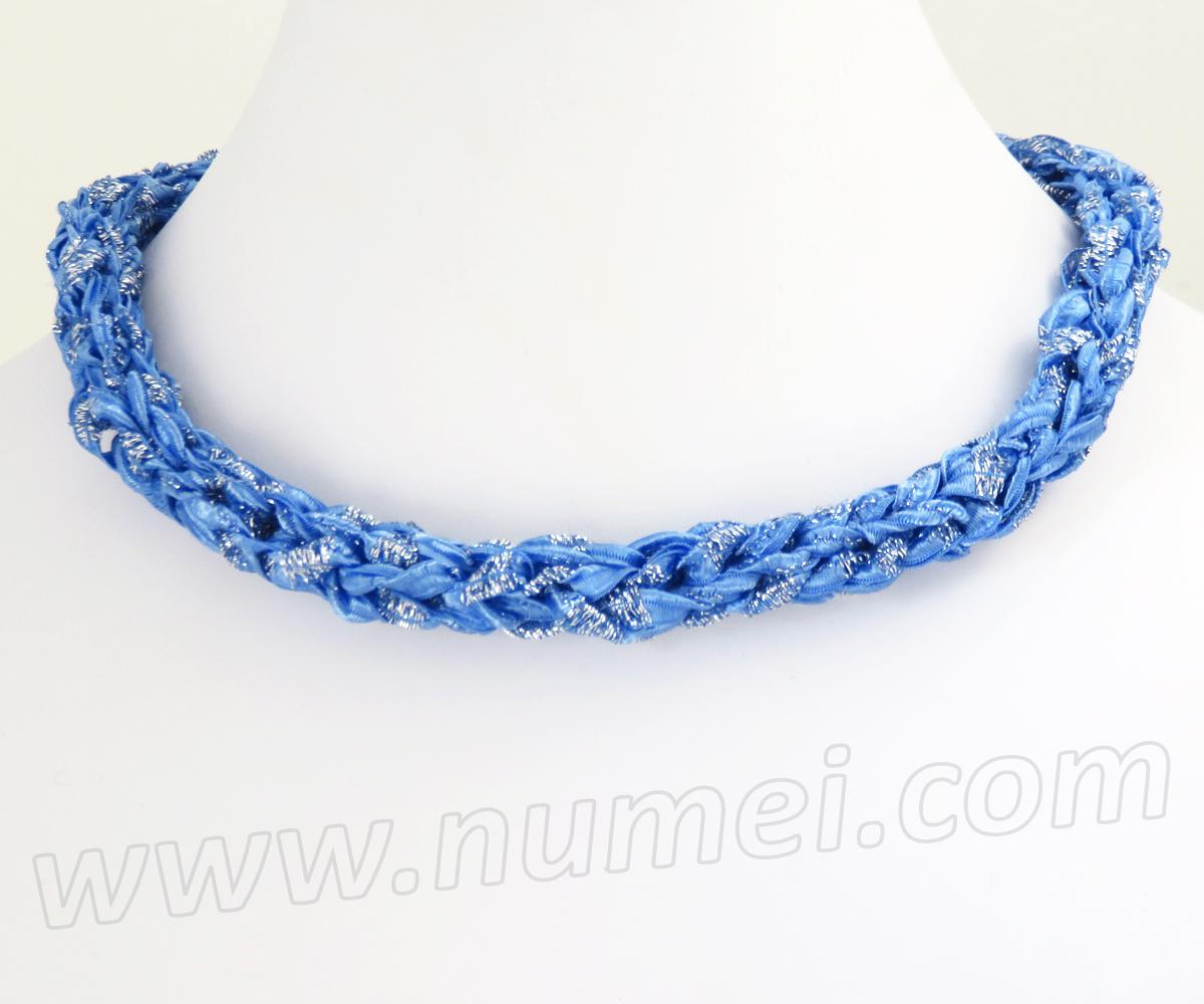 Lujoso Knitted Necklace Patterns Patrón - Manta de Tejer Patrón de ...