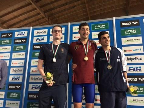 MArcello Guidi podio 5 km Riccione 2017