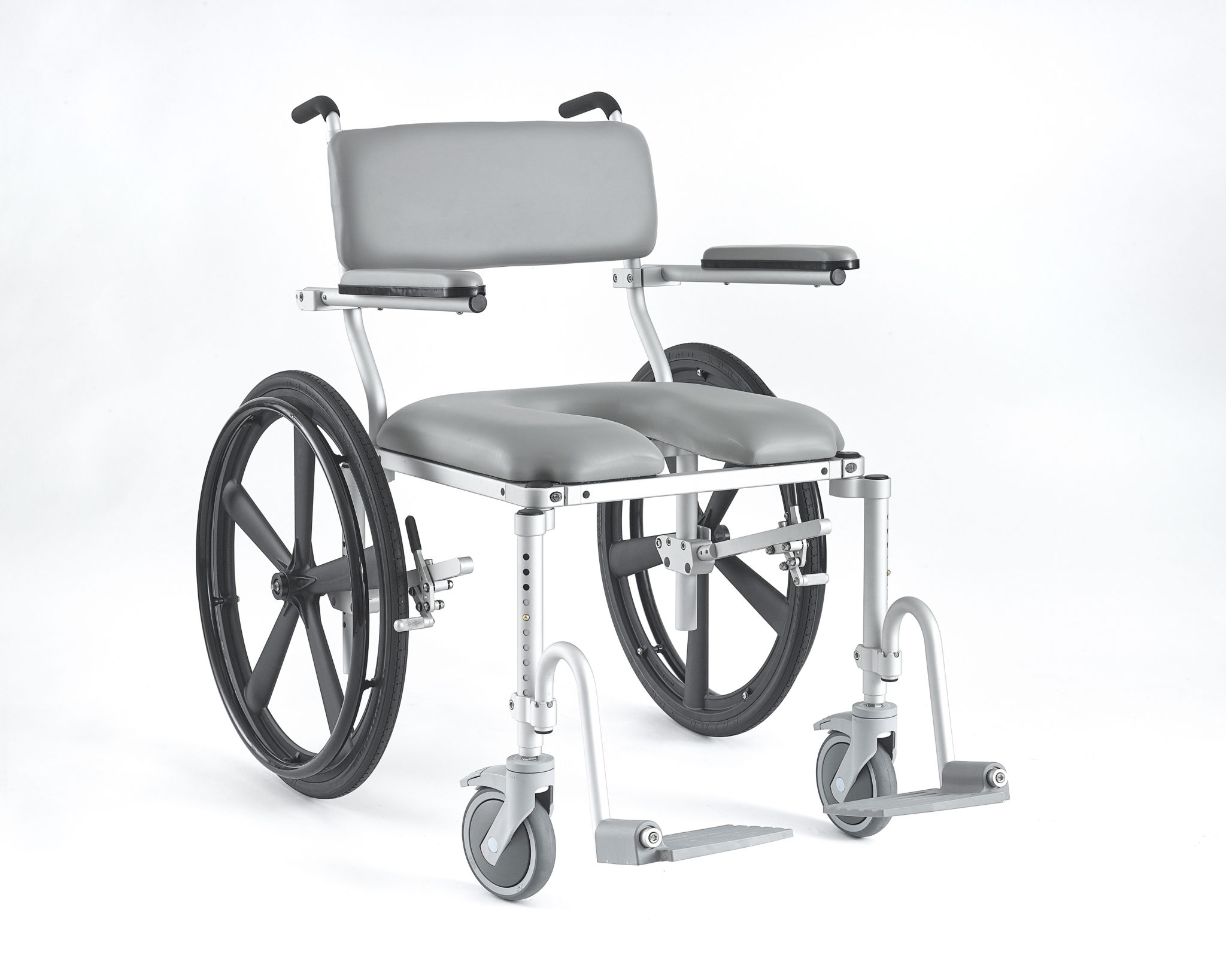 Mc4224 Wide Shower Chair And Commode Chair For