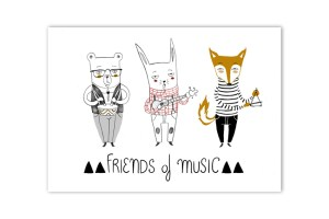 Print Friends of Music