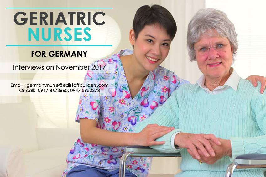 Germany hiring elderly care nurses, up to P15 million annual salary