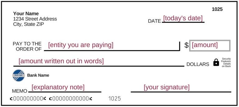 How To Fill Out A Check Sample Check Filled Out World Of \u2013 Nurul Amal