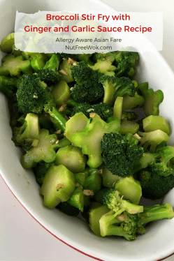 Ideal Broccoli Stir Fry Ginger Garlic Sauce Is Easy This Broccoli Stir Fry Recipe Is A Lightened Up Ginger Garlic Sauce Recipe Nut Free Wok Healthierversion Than Broccoli Stir Fry My Recipe