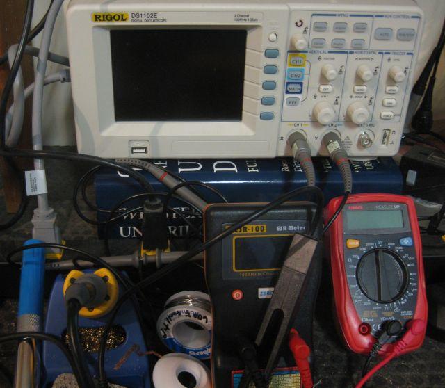Sears Scroll Saw circuit board repair