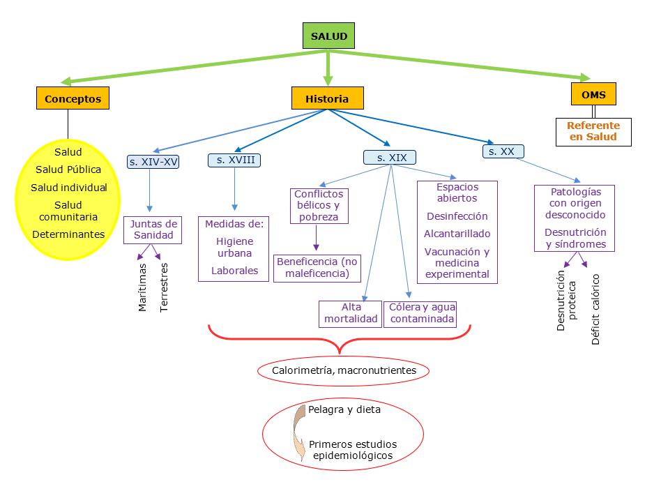 Mapa Conceptual Salut Pública