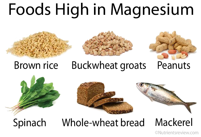 Magnesium Foods And Supplements Chart Benefits Side Effects