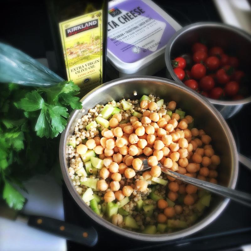 recipe Sorghum Salad