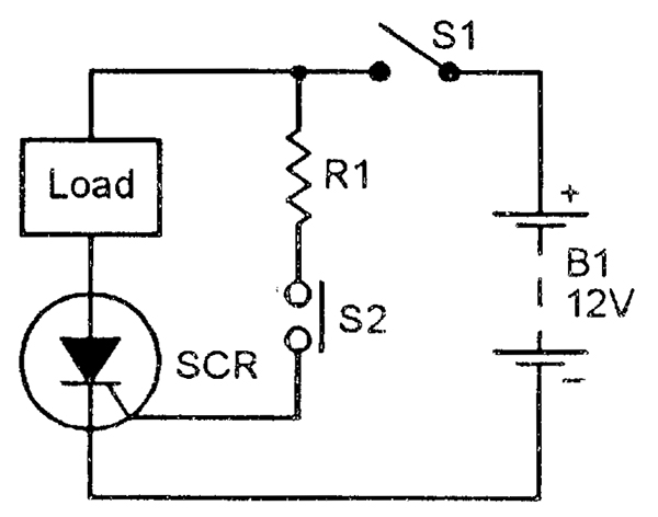 scr circuit wiring diagram