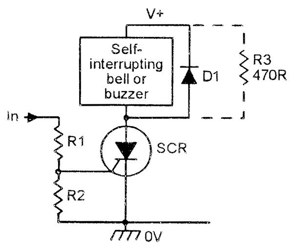 Alarm Latching Relay Diagram Wiring Diagram