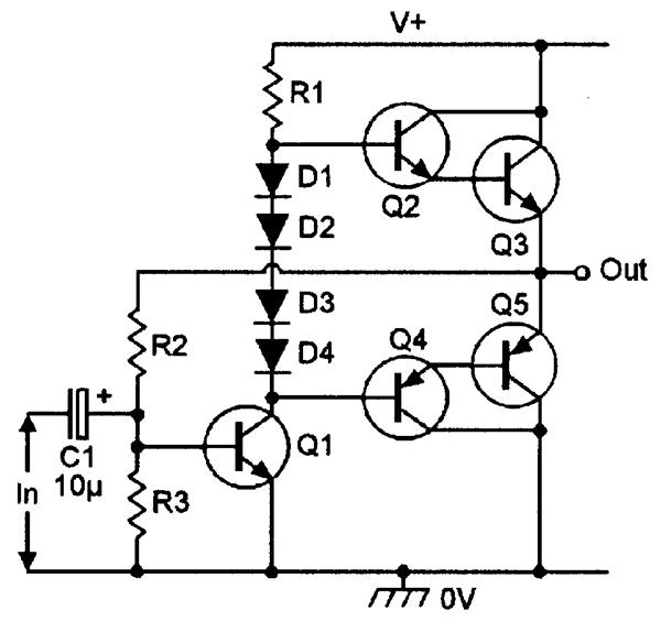 2n3055 transistor circuit