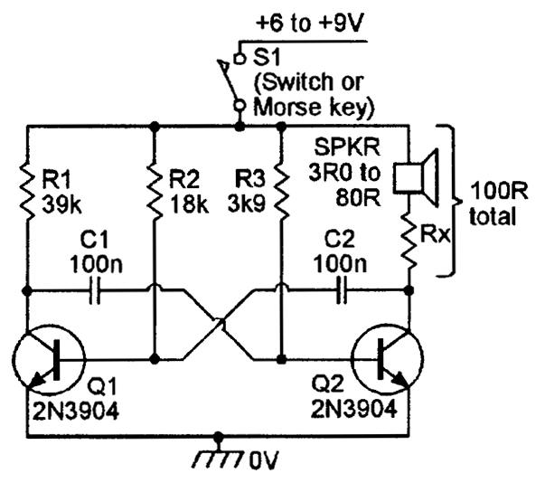 transistor circuits oscillator circuit image