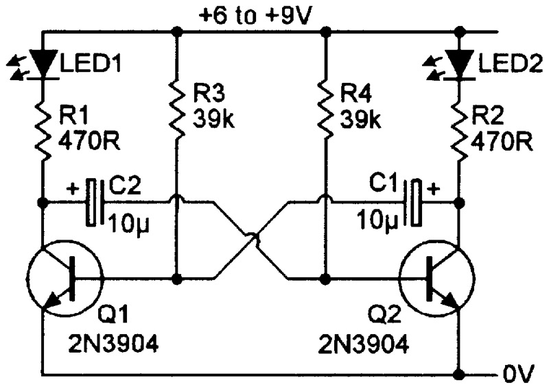 12 volt 15 second timer circuit