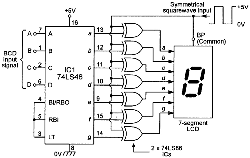 segment display decoder