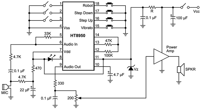 multi switch circuit diagram