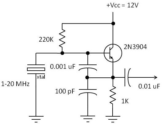 the colpitt s oscillator circuit is a superb circuit and is widely