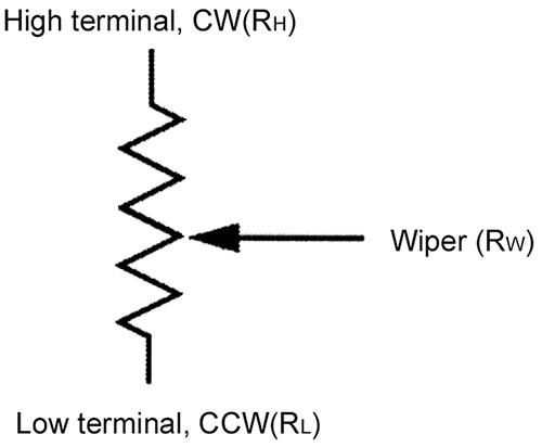 Potentiometer Wiring Diagram Symbol Wiring Diagram Automotive