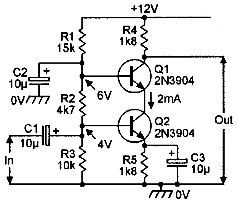 switch circuit of transistor basiccircuit circuit diagram