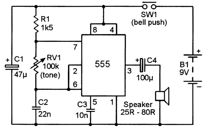 square wave generator circuit diagram