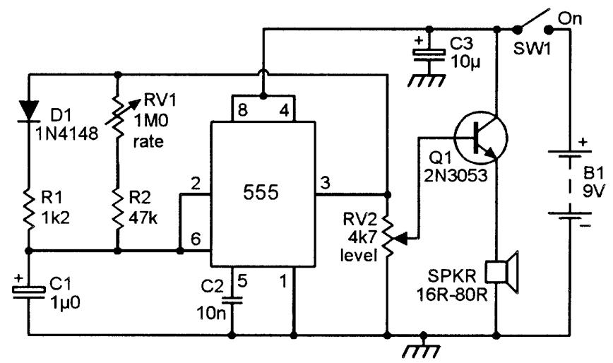 metronome generator circuit