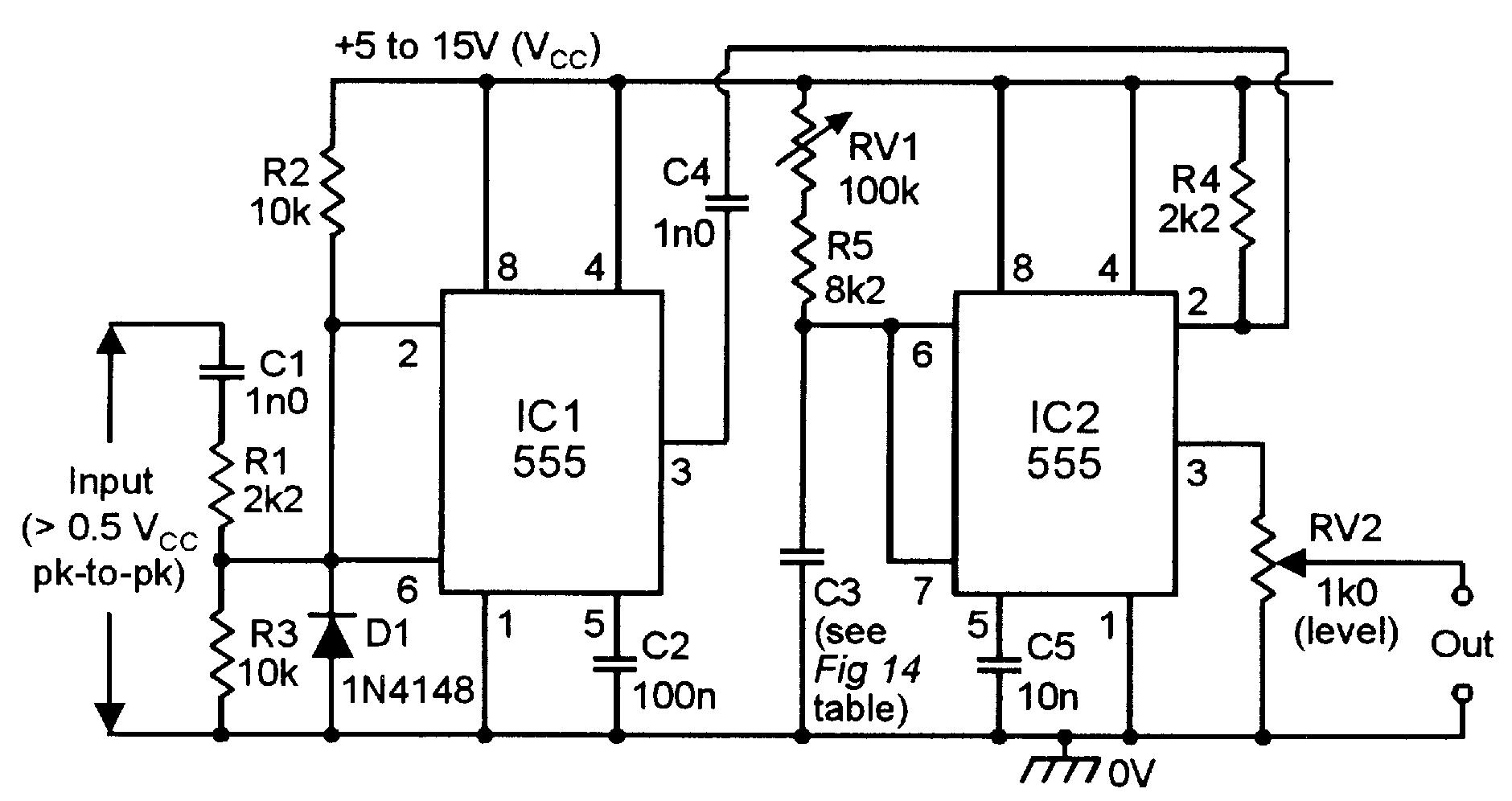 Cozy 555 Monostable Circuits Nuts Volts Magazine Bistable Multivibrator Timer Circuit Diagram