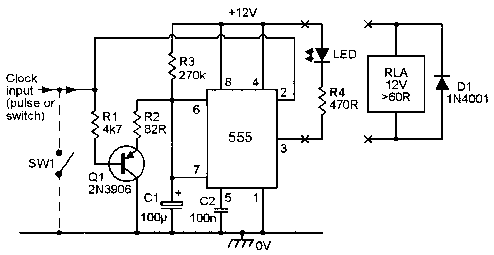 Missing Pulse Detector Circuit Using Ne555 Auto Electrical Wiring Http Wwwseekiccom Circuitdiagram Basiccircuit Basicrctllogic Diagram