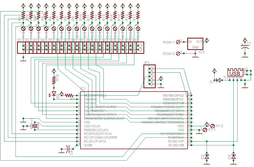 Keyboard Circuit Diagram Wiring Diagram