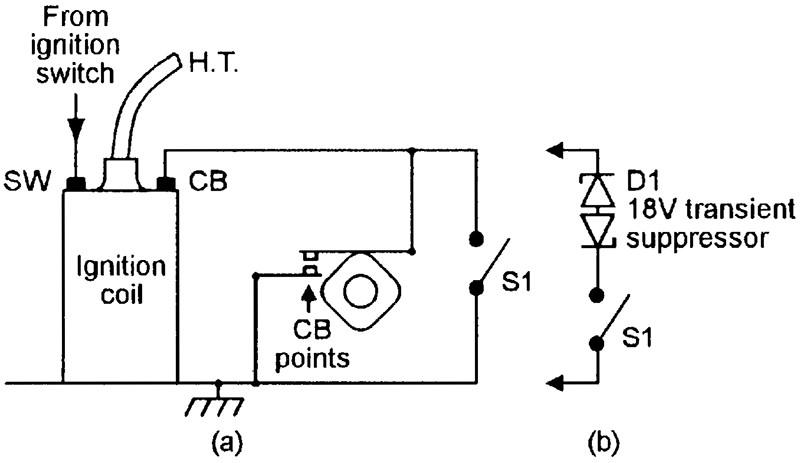 above is a circuit wired in series