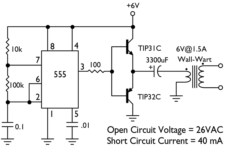 voltage and current tester circuit