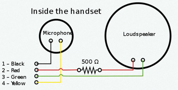 Telephone Audio System Wiring Wiring Schematic Diagram