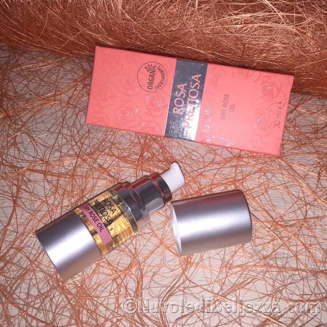 Natural Cosmetic Rosa Pretiosa Dry Oil