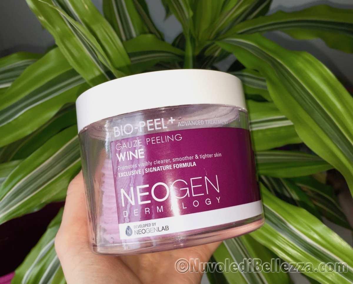 Neogen Bio-Peel Gauze Peeling Wine | Recensione Peeling Viso al Vino