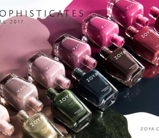 ZOYA Sophisticates Collezione Autunno 2017
